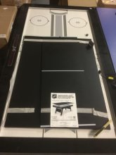 Hover Hockey Table w/ Table Tennis Top, NHL