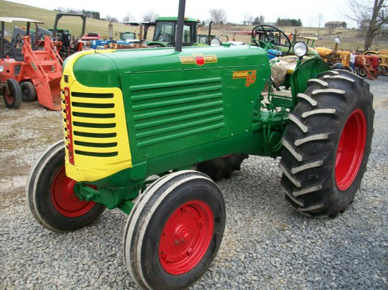 Oliver 88 Standard, diesel, p.s. PTO, hydraulics, belt pully, new paint and tires. Beautiful tractor