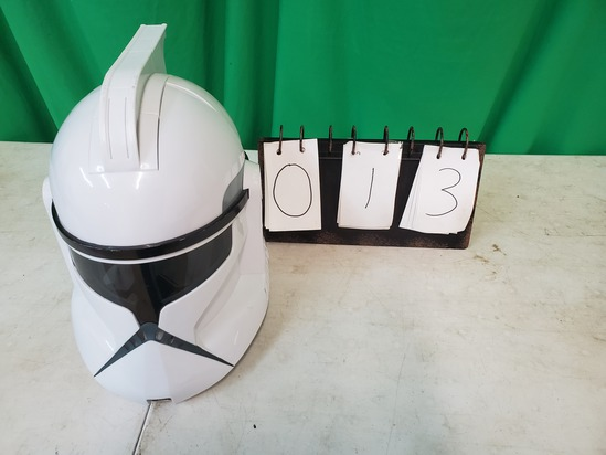 Voice Changing Storm Trooper Helmet