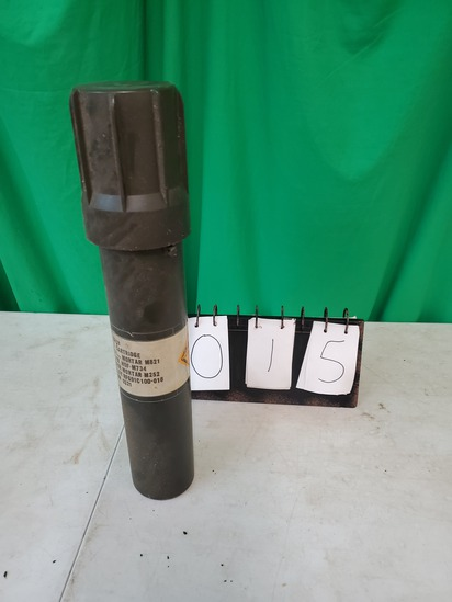 Military Mortar Container