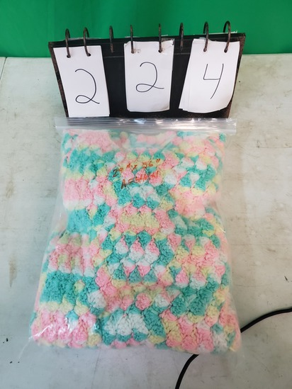 29x36 knitted afghan