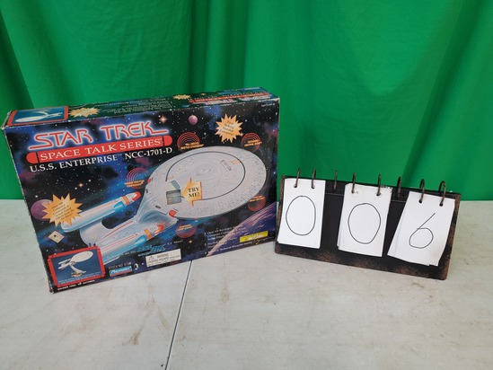 Star Trek Space Talk Series USS Enterprise