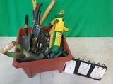 Box of Gardening Tools