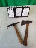 Welding Hammer and Hatchet