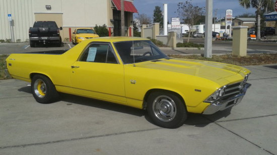 1969 Chevrolet El Camino SS396 (now with 427 engine)