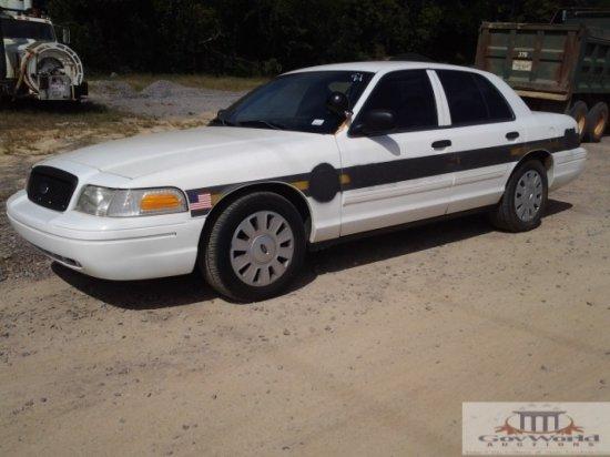 2010 FORD CROWN VICTORIA POLICE INTERCEPTOR:VIN# 2FABP71BVOAX123215