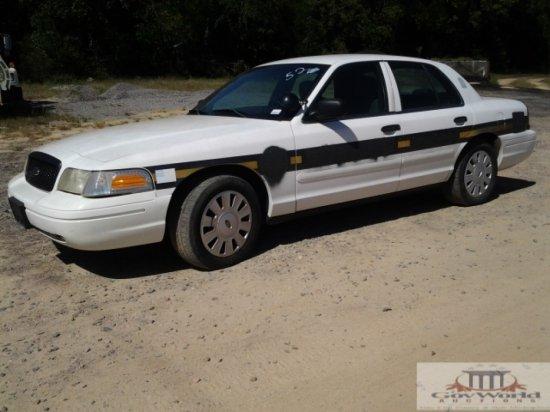2006 FORD CROWN VICTORIA POLICE INTERCEPTOR:VIN# 2FAFP71W16X119182