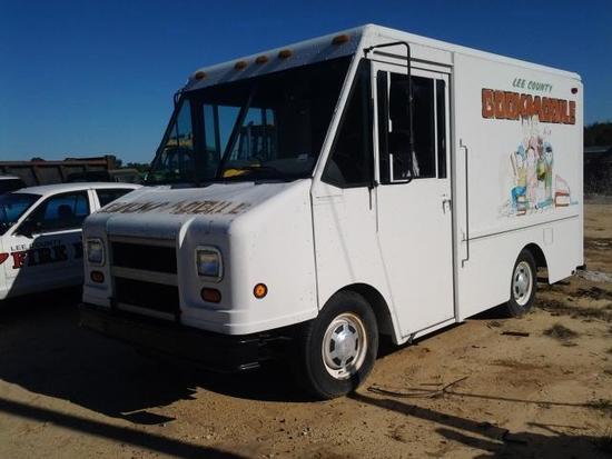 1998 GMC Step Van Utili Master Mobile Library Van, VIN # 1GDGP32W7W3500513