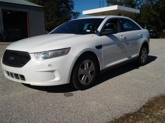 2013 Ford Taurus Passenger Car, VIN # 1FAHP2M8XDG119302
