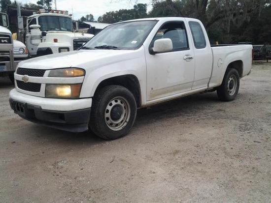 2009 Chevrolet Colorado Pickup Truck, VIN # 1GCCS199398128035