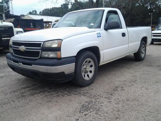 2006 Chevrolet Silverado Pickup Truck, VIN # 1GCEC14V16E218095
