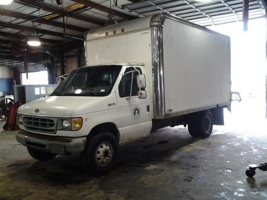 1997 Ford Econoline E-350 Cube Van, VIN # 1FDKE37L2VHB45797