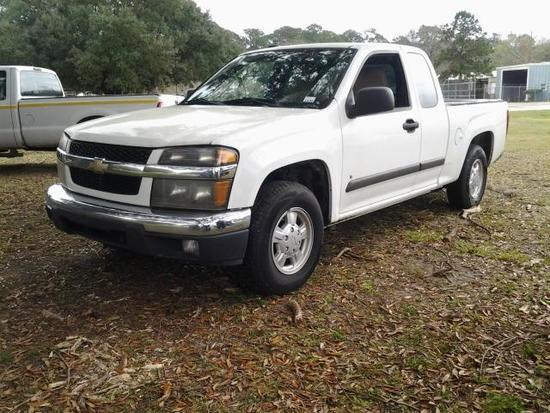 2008 Chevrolet Colorado Pickup Truck, VIN # 1GCCS39EX88215678
