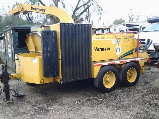2007 Vermeer SC752I/BC2000XL Chipper Trailer, VIN # 1VRY1520771000298