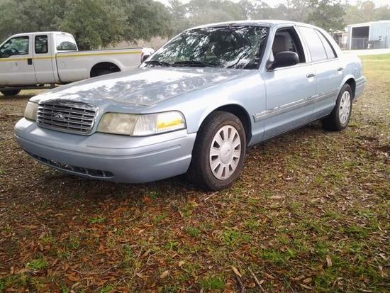 2007 Ford Crown Victoria Passenger Car, VIN # 2FAFP71WX7X101551