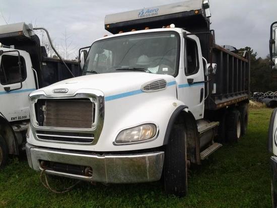 2005 Freightliner M2 112 Medium Duty Tri-Axle Dump Truck, VIN # 1FVHC5CV45HV08483