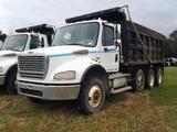 2007 Freightliner M2 112 Medium Duty Tri-Axle Dump Truck, VIN # 1FVMC5CV27HX48178