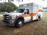 *** EMS State Licensed Only *** 2011 Ford F-450 XLT Ambulance, VIN # 1FDUF4GTXBEA09104