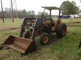 CASE INTERNATIONAL 685 TRACTOR W/ FRONT LOADER BUCKET