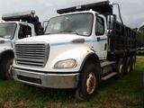 2007 Freightliner M2 112 Medium Duty Tri-Axle Dump Truck, VIN # 1FVMC5CV07HX48177