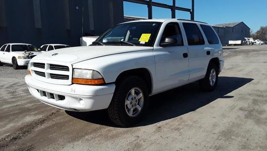 2002 Dodge Durango Multipurpose Vehicle (MPV), VIN # 1B4HR38N82F172994