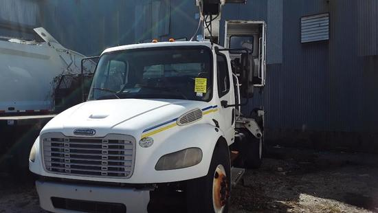 2009 Freightliner M2 106 Medium Duty Knuckle Boom Clam Truck, VIN # 1FVACYDT19HAH6634