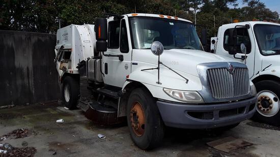 2011 International DuraStar 4300 Sweeper Truck, VIN # 1HTJTSKN0BH341910