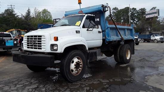 2000 Chevrolet C7500 Dump Truck, VIN # 1GBL7H1C1YJ501392