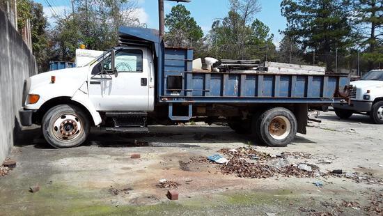 2006 Ford F-650 Dump Truck, VIN # 3FRNF65E86V266560