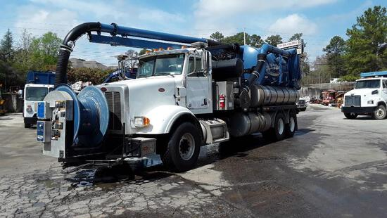 2014 Peterbilt 365 Vacuum Truck, VIN # 1NPSLJ0X7ED247172