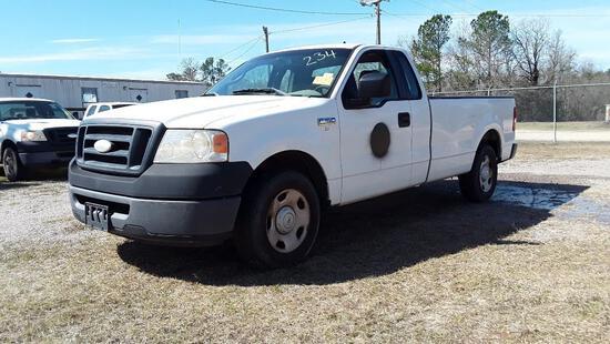2007 Ford F-150 Ext. Cab Pickup Truck, VIN # 1FTRF122X7KD32780