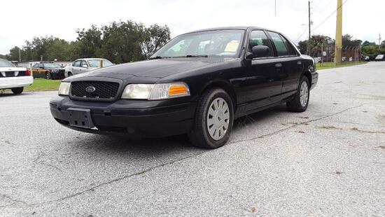2010 Ford Crown Victoria Passenger Car, VIN # 2FABP7BV1AX146969