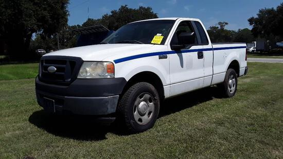 2007 Ford F-150 Pickup Truck, VIN # 1FTRF12277KC36704