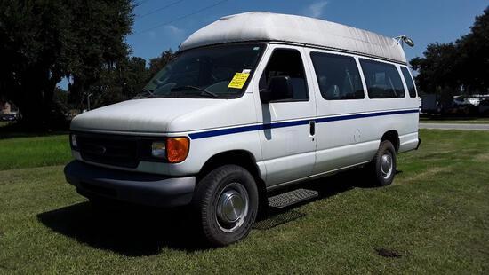 2006 Ford Econoline Wagon Van, VIN # 1FBSS31L26DB28954