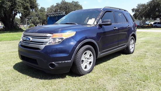 2011 Ford Explorer Multipurpose Vehicle (MPV), VIN # 1FMHK7B87BGA22656