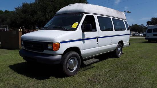 2006 Ford Econoline Wagon Van, VIN # 1FBSS31L46DB28955