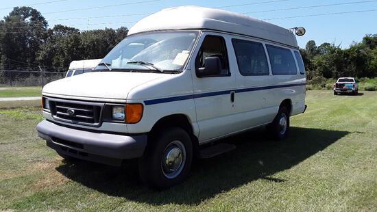 2006 Ford Econoline Wagon Van, VIN # 1FBSS31L56DB22985