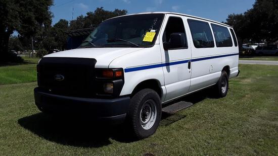 2008 Ford Econoline Wagon Van, VIN # 1FBSS31L88DB25169