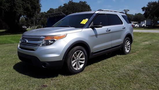 2011 Ford Explorer Multipurpose Vehicle (MPV), VIN # 1FMHK7D8XBGA22633