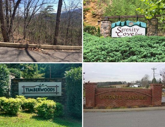 4 Lots being sold as 1 - #1 - Morning Dove Way, Sevier County, TN, Approx.