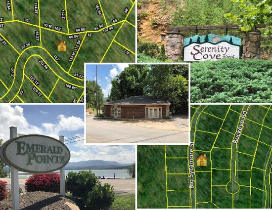 Five Lots (5) being sold as one:  #1 -  Dove Wing Way, Sevier County, TN, A