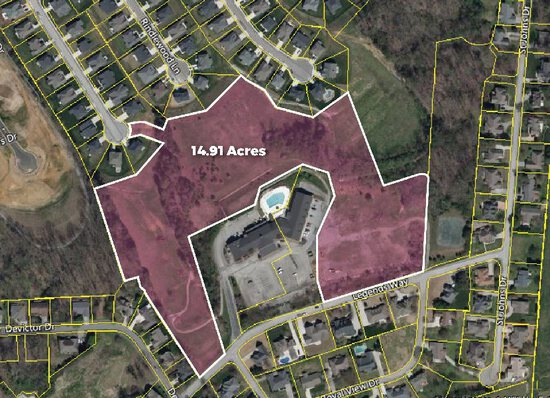Approx. 14.91 Acre Development Tract located on Legends Way
