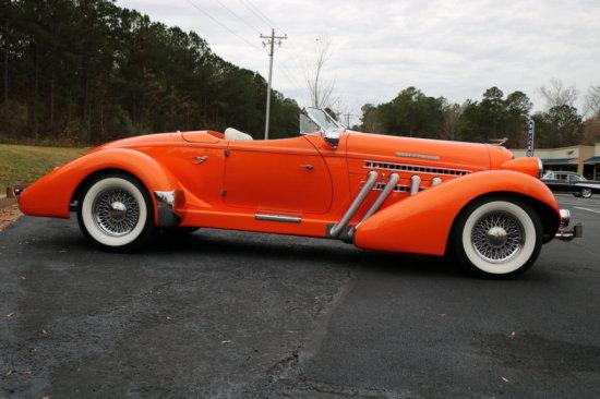 1936 Auburn Kit Car Boattail
