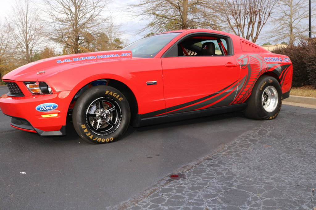 2012 Ford Mustang Super Cobra Jet