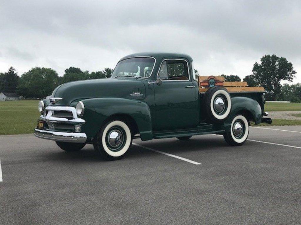 Lot 1954 Chevrolet 3100 5 Window Pickup Proxibid Auctions Pick Up