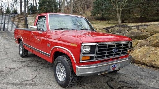 1986 Ford F150 XLT