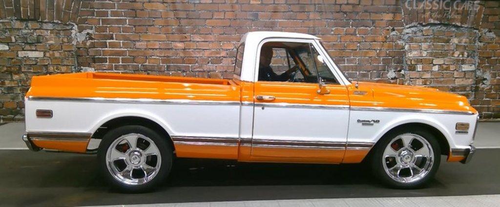 1972 Chevrolet C10 Custom Deluxe