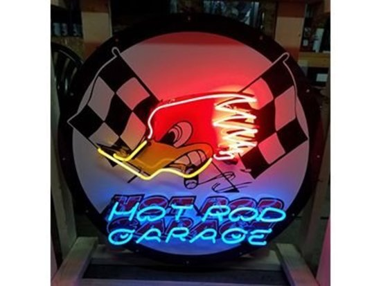 Hot Rod Garage Neon Sign - 36""