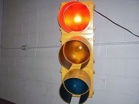 C-H Polycarbonate Traffic Signal
