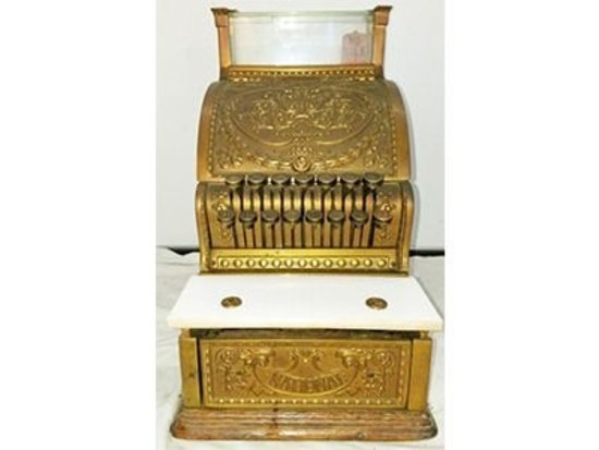 National Brass 313 Candy Cash Register